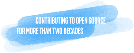 Contributing to Open Source for more than two decades