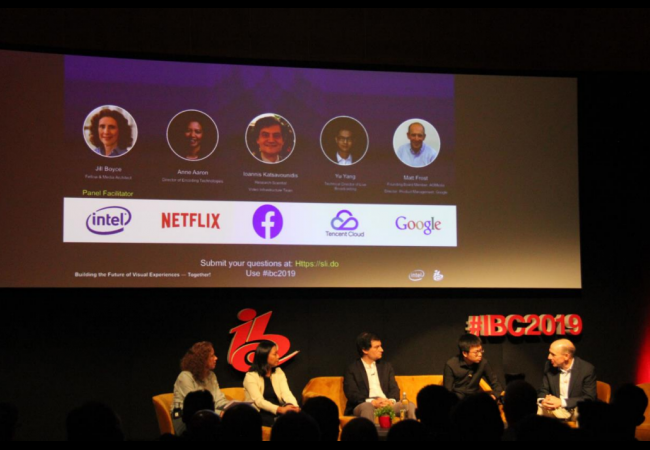 IBC 2019 Visual Cloud Conference Panel session